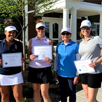 Women's Golf 101 Graduation